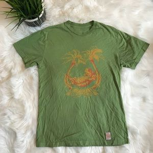 Green The Naked Turtle White Rum tee size S